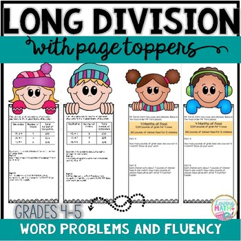 Long Division Winter Themed