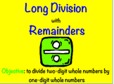 Long Division With Remainders