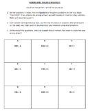 Long Division Without Remainders SAVE THE TEACHER MYSTERY!