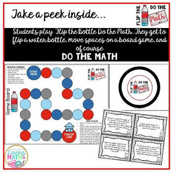 Long Division Word Problems with 1 and 2 Digit Divisors Math Game