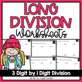 Long Division Worksheets   3 Digit by 1 Digit Division   D