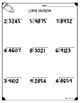 Long Division Worksheets (4.NBT.B6 & 5.NBT.B6)