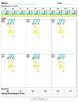 Long Division Worksheets (Division Tutor Set C Color)