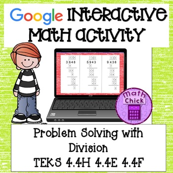 Divide Whole Numbers Google Classroom Interactive Activity