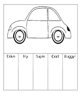 Long Division and the Super Cool Buggy: Foldable and Fun!