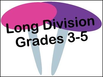 Long Division (chart)