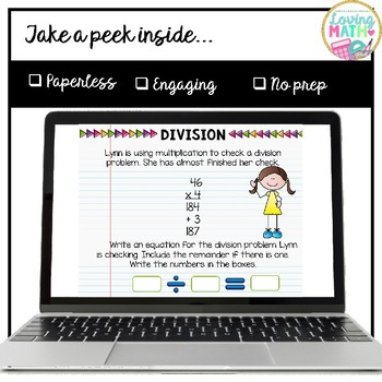 Long Division for Google Classroom