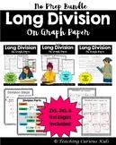 Long Division on Graph Paper Bundle