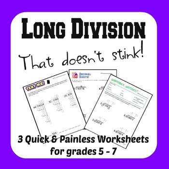 Long Division that Doesn't Stink!