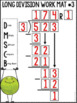 Long Division with 1-Digit Divisors Student Math Work Mats