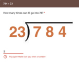 Long Division with 2-Digit Divisors - Step by Step