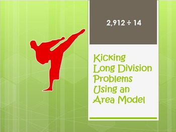 Long Division with Area Model 5.NBT.6.