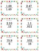 Long Division with Decimals - Task Cards with QR Codes (Op