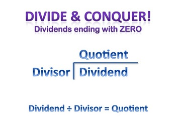 Long Division with Dividend Ending in Zero