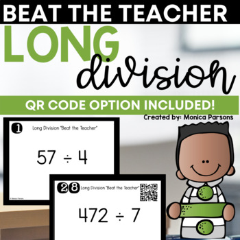 Long Division Game: Beat the Teacher!