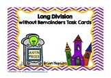 Long Division without Remainders for Beginners Haunted Hou