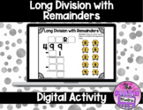 Long Division with Remainders in Google™ Classroom | Dista