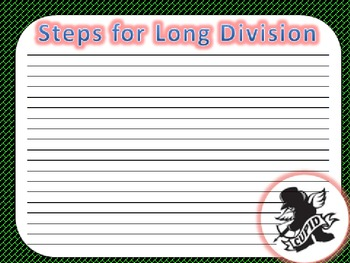 Long Division with The Cupid Shuffle!!!