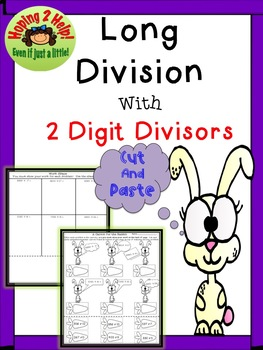 Long Division with two-digit divisors