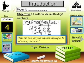 Long Divisions