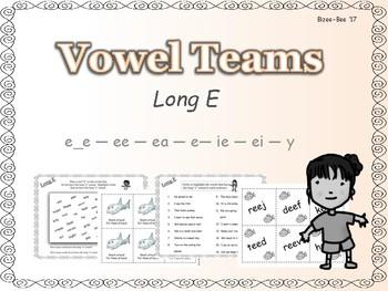 Long Vowels: Long E NO PREP