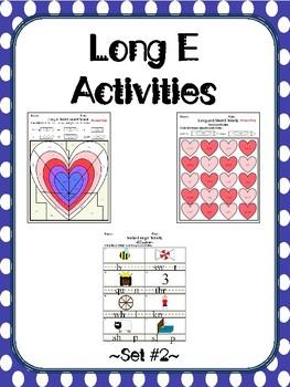 Long E Activities Set #2