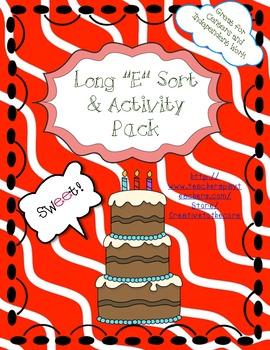 Long E Activity Pack