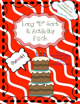 Long E Activity Pack