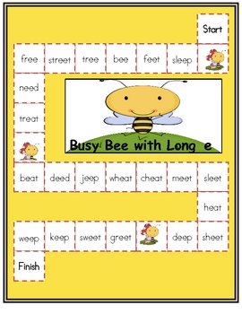 Long E Activity Packet