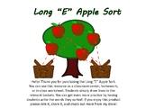 Long E Apple Tree Sort. [No Prep!]