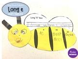 Long E Bee Craft Template