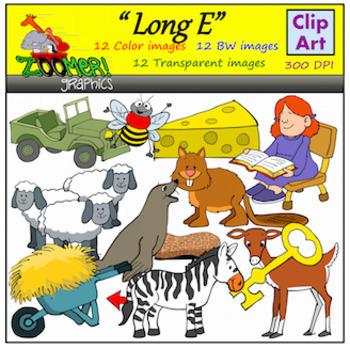Long E Clipart