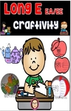 Long E Craftivity and Writing Activity -- EE and EA words