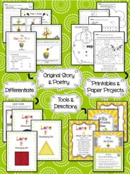 Long E Differentiated Word Work Bins