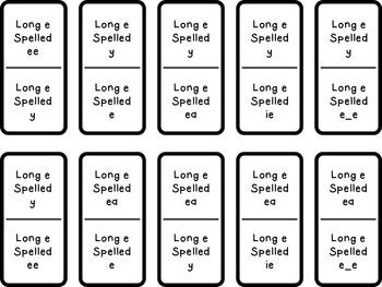 Long E Dominoes