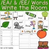 Long E: EA and EE Words Write the Room