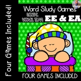 Long E: EE, EA [[Word Family GAMES!]]