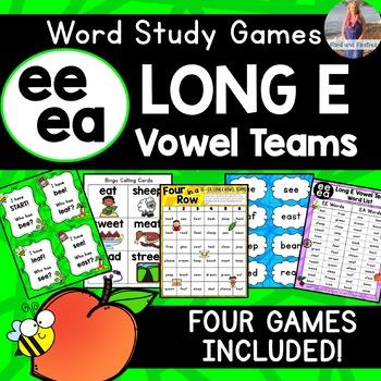 Long E: EE, EA [[Word Family GAMES!]]