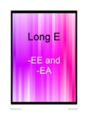 Long E (EE, EA) Worksheets