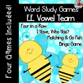Long E: EE Vowel Team [[Word Family GAMES!]]