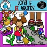 Long E: EE Words Clip Art Set - Chirp Graphics