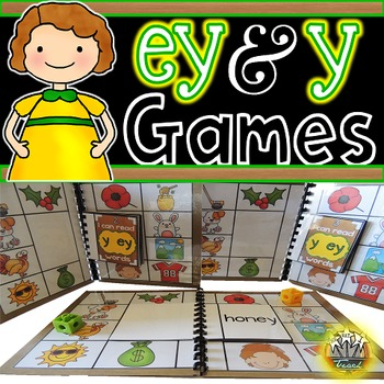 Long E: EY Y Phonics Games