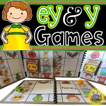 Long E: EY Y Phonics Games