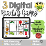 Long E:  EY and Y Digital Reading Activities - Distance Learning