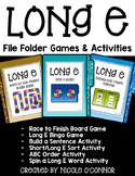 Long E File Folder Games and Activities