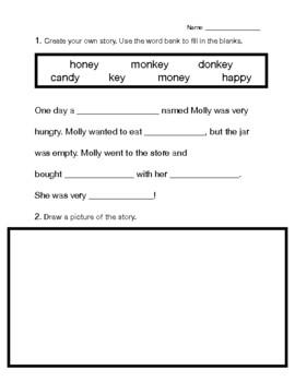 Long E Fill In The Blanks Short Story