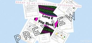 Long E Flip Book/Interactive Notebook