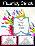 Long E Fluency Cards
