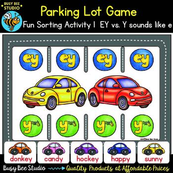 Long E Game: Parking Lot -ey and -y