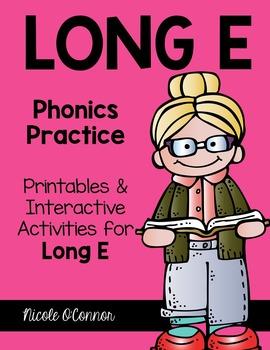 Long E Interactive Phonics Practice